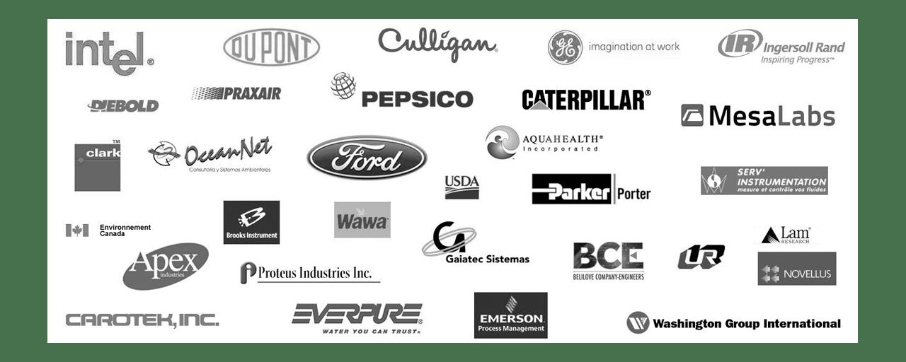 Florite customer logos